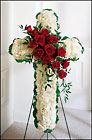 Floral Cross Arrangement from Arthur Pfeil Smart Flowers in San Antonio, TX