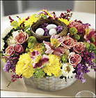 Easter Delights Centerpiece from Arthur Pfeil Smart Flowers in San Antonio, TX