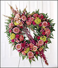 Eternal Rest Heart Wreath from Arthur Pfeil Smart Flowers in San Antonio, TX