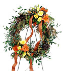 Flourishing Garden Wreath from Arthur Pfeil Smart Flowers in San Antonio, TX