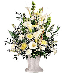 Solemn Offering Basket from Arthur Pfeil Smart Flowers in San Antonio, TX