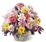 Basket of Cheer Bouquet from Arthur Pfeil Smart Flowers in San Antonio, TX