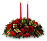 Holiday Classics Centerpiece   from Arthur Pfeil Smart Flowers in San Antonio, TX