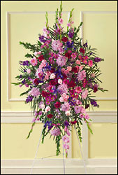 Pastel Standing Spray from Arthur Pfeil Smart Flowers in San Antonio, TX