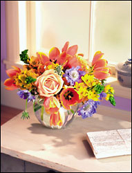 Vibrant Colors Bouquet from Arthur Pfeil Smart Flowers in San Antonio, TX