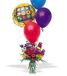 Balloons and a Boost from Arthur Pfeil Smart Flowers in San Antonio, TX