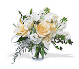 White Roses and Lilies from Arthur Pfeil Smart Flowers in San Antonio, TX