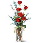 Six Red Roses from Arthur Pfeil Smart Flowers in San Antonio, TX